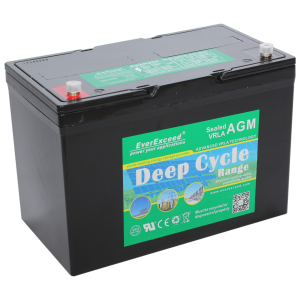 DP-12100 Deep Sycle AGM Range VRLA