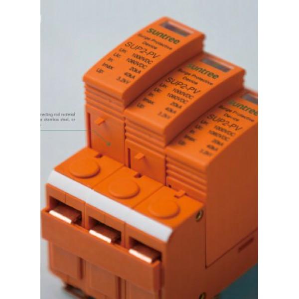 Ограничитель перенапряжения (УЗИП) для PV систем 3P +/-/PE 1000VDC