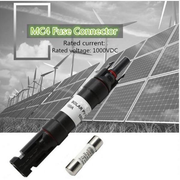 FMC4H разъем MC4 с плавким предохранителем