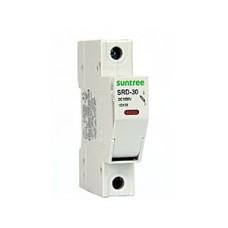 Предохранитель Solar PV 10A c держателем DIN Suntree SRD30
