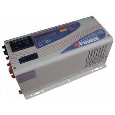 Низкочастотный инвертор для резервного и автономного питания дома Q-Power QPC+2012, 2000W