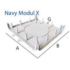 1/2 Navy Modul X