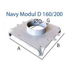 1/2 Navy Modul D 160/200