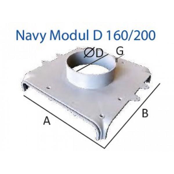 Navy Modul D 160/200