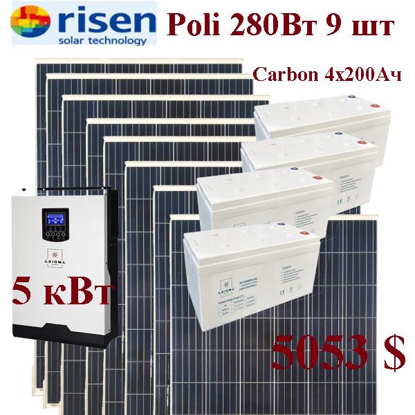 Axioma 5000 48+Risen280x9+AX-Carbon200x4