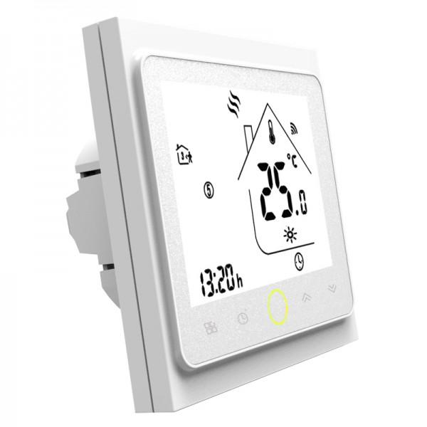 114221 Термостат с WiFi управлением Tervix Pro Line для водяного теплого пола с внешним датчиком температуры 2500мм