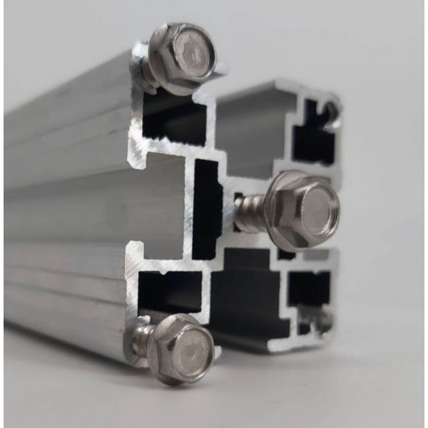 Конструкционный станочный алюминиевый профиль КАП 40х40