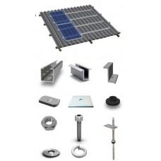 Комплект системы креплений для скатных крыш SRS-S AL
