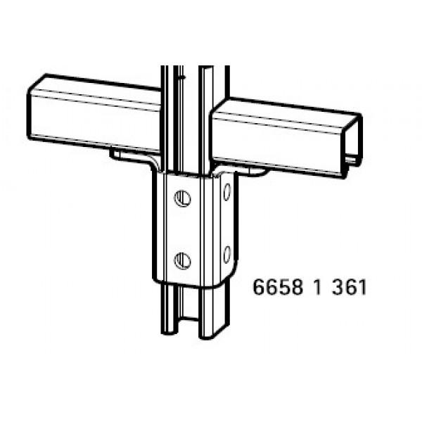 66581361 Соединитель BIS Strut прямой 90˚ 128x103x6
