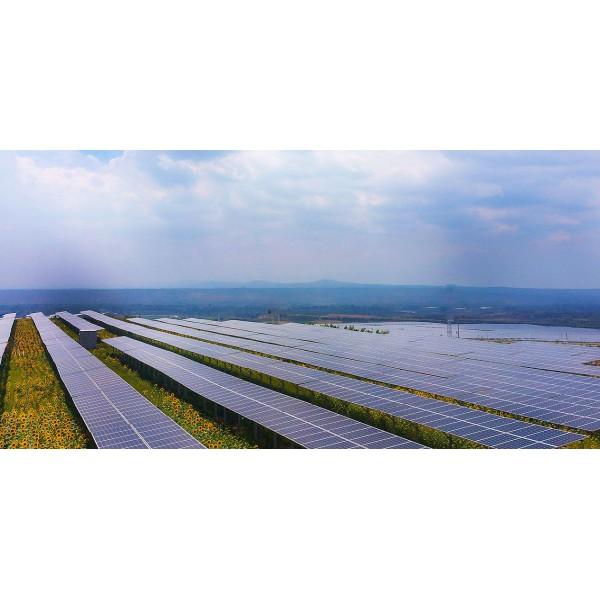 Солнечная наземная станция 5 МВт