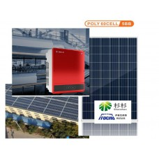 Сетевая солнечная станция 30кВт Goodwe & Ulica poly 280W 29.96кВт