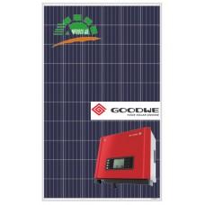 Сетевая солнечная станция 10кВт Goodwe & AmeriSolar poly 285W 11,97кВт
