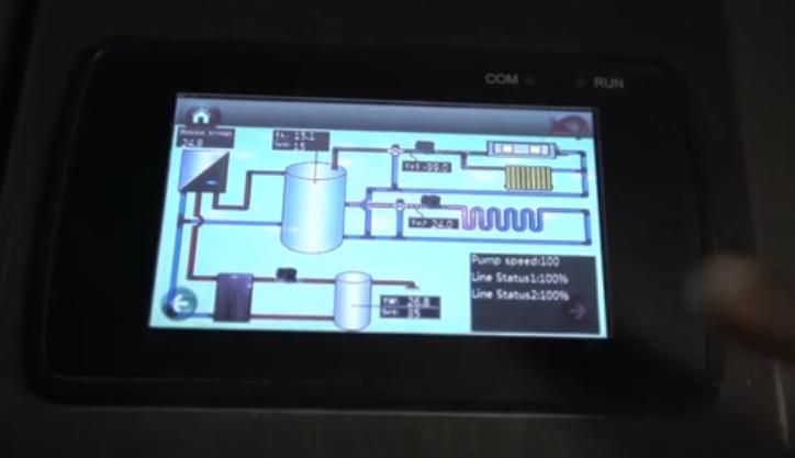 Система умный дом с тепловым насосом
