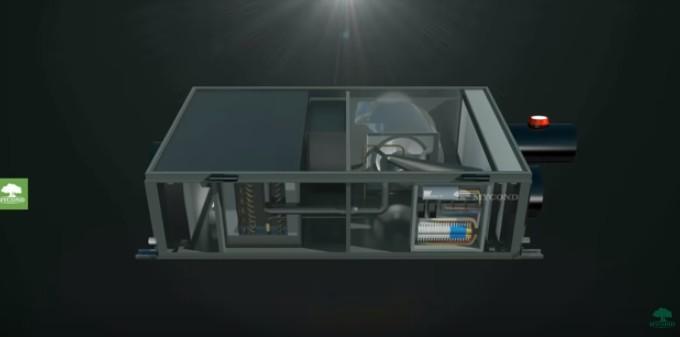 Осушитель с функцией вентиляции и очистки воздуха