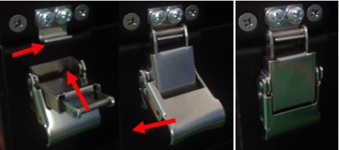 соединение батарей с помощью кронштейнов