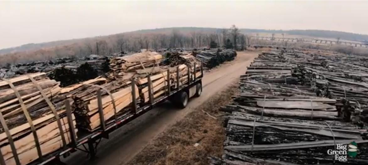Изготовление древесного угля