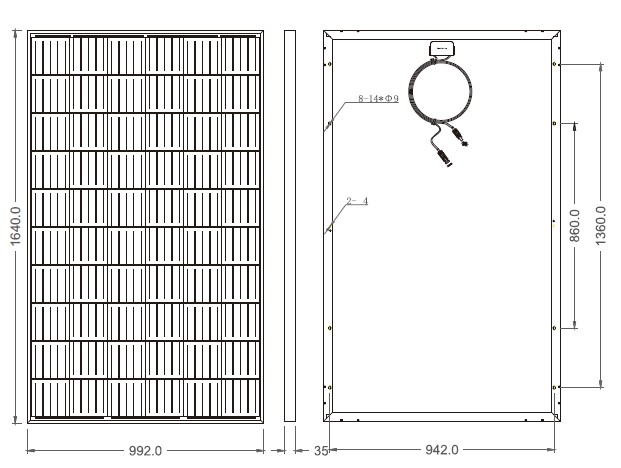 Размеры BS 290P
