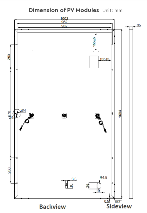 Размеры IE158-M120-340W/5BB