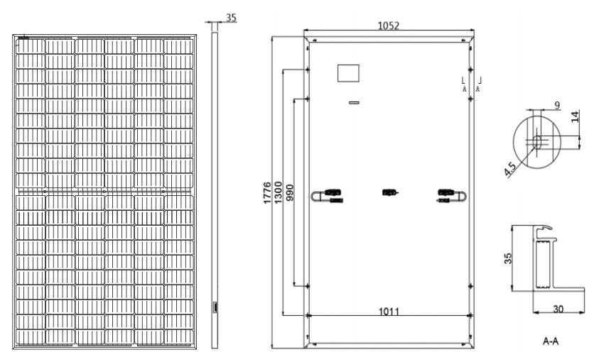 Размеры LR4-60HPH355