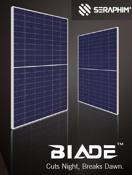 Солнечные панели Blade halfcell Seraphim