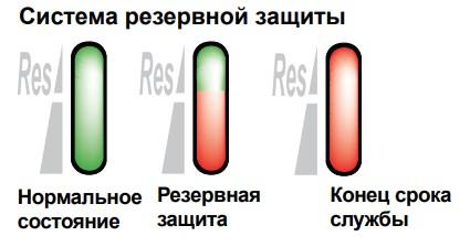 Система резервной защиты
