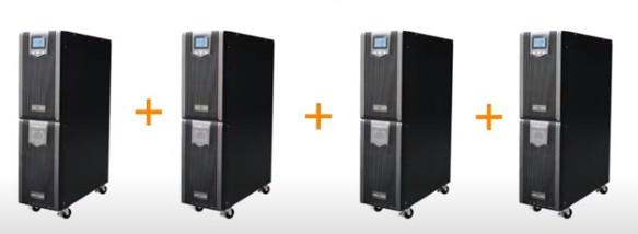 Параллельное подключение  Smart-online UPS