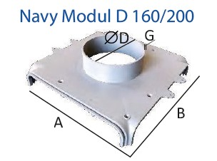 Navy Modul 160_200